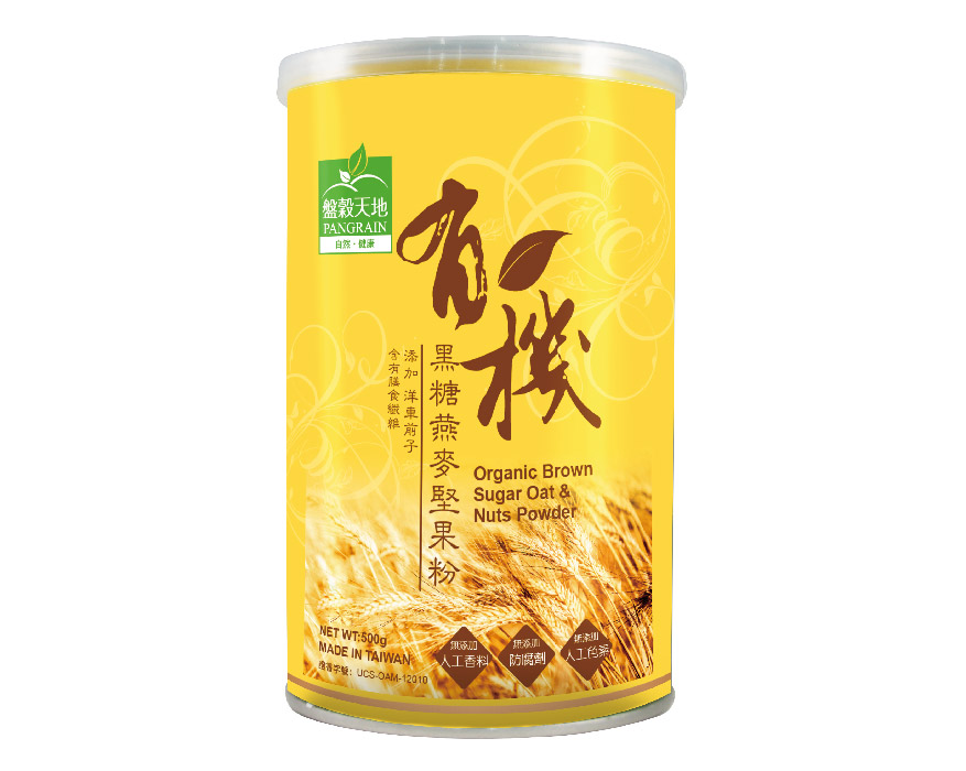 有機黑糖燕麥堅果粉 Organic Brown Sugar Oat & Nuts Powder