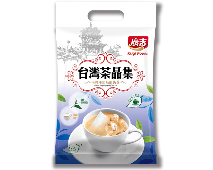 台灣茶品集-烏龍奶茶 Nantou Tung Ting Oolong Milk Tea
